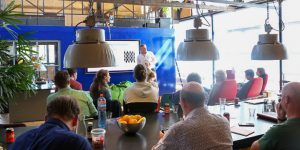 Sport Innovatie Meetup in De Loods over het gebruik van data en privacy